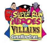 The Super Run 5K Tucson, AZ registration logo