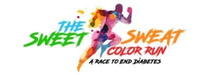The Sweet Sweat 5K Color Run/walk  registration logo