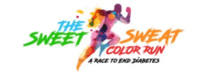 The Sweet Sweat 5K Color Run/Walk 2019 registration logo