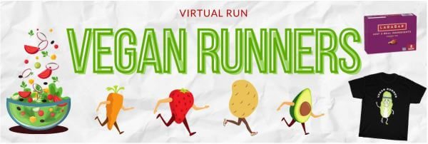 The Vegan Virtual Run registration logo