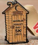 The World Toilet Day 5K registration logo