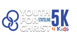 The Youth for Christ 5k 4 Kids  registration logo
