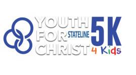 The Youth for Christ 5k 4 Kids  registration logo