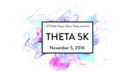 Theta 5K registration logo