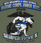 Third Annual Semper Fi-ve K registration logo