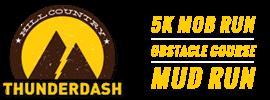 ThunderDash 5K/10K Mud and Obstacle Run registration logo