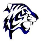 Tiger Athletics Fun-Run Fundraiser registration logo