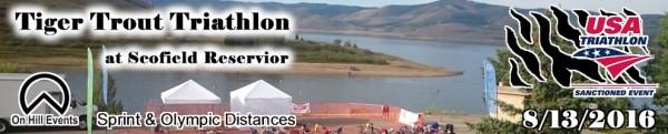 Tiger Trout Triathlon at Scofield Reservior - USAT Sanctioned
