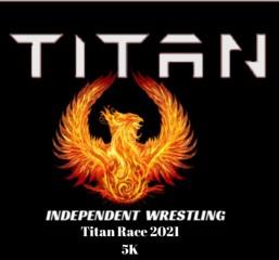 Titan Run 2021 registration logo