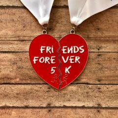 Together Forever - Friends Forever 5K registration logo