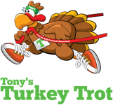 Tony's Turkey Trot for Brain Injury & Alzheimers Awareness registration logo