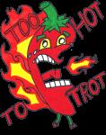 Too Hot to Trot VIRTUAL 5K Walk/Run registration logo