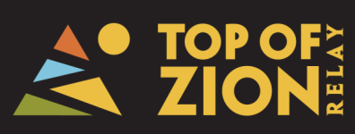 Top of Zion National Parks Relay registration logo