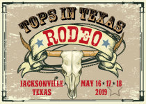 Tops In Texas Rodeo registration logo