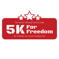 Torrance Armed Forces Day '5K For Freedom' registration logo