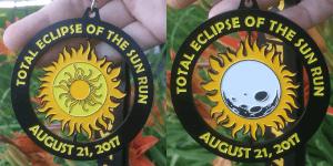 Total Eclipse of the Sun Run 5K & 10K registration logo