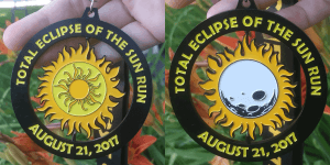 Total Eclipse of the Sun Run 5K & 10K registration logo