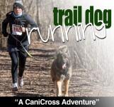 Trail Dog Running registration logo