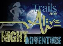 Trails Are Alive Night Adventure registration logo