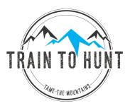 Train To Hunt Challenge Wyoming registration logo