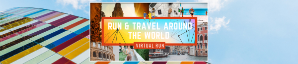 Travel & Virtual Run Around the World 2020 - NYC registration logo