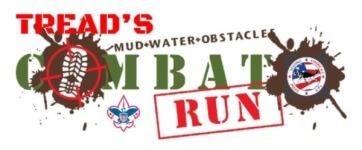 Tread's Combat Mud Run registration logo