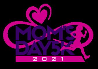 Tri Faster Mom's Day 5K registration logo