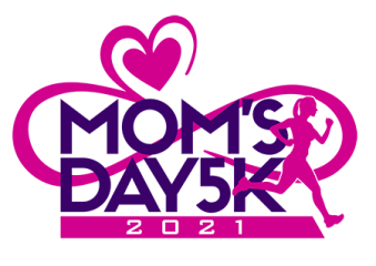 Tri Faster Mom's Day 5K registration logo