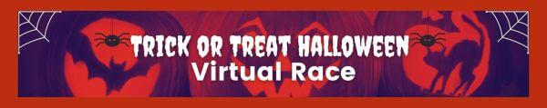 Trick or Treat Halloween Virtual Race 2021 registration logo