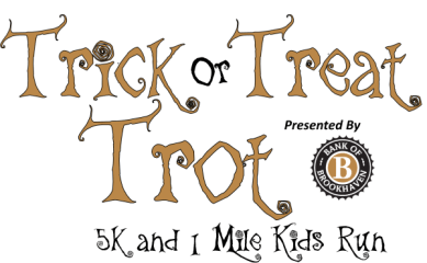 Trick or Treat Trot 5K & 1 Mile Kids Run registration logo
