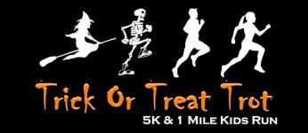 Trick or Treat Trot registration logo