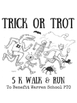 Trick or Trot 3K/5K Fun Run registration logo