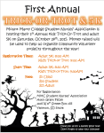 Trick-or-Trot 5k Run/Walk registration logo