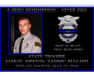 Trooper Samuel Bullard 5K registration logo