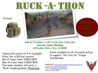 Troy for Troops Ruck-a-Thon registration logo