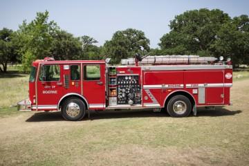 Tug the Truck - The Fire Truck registration logo