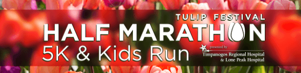 Tulip Festival Half Marathon registration logo