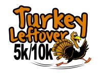 Turkey Leftovers 5k/10k Run registration logo