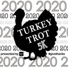 Turkey Trot 5K presented by KJF registration logo