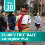 Turkey Trot Race registration logo
