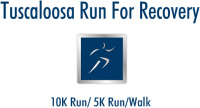 Tuscaloosa Run For Recovery registration logo