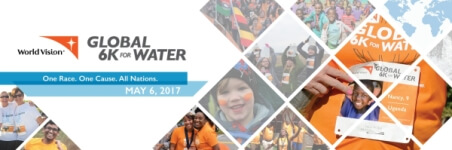 UBC Global 6k Race for Water registration logo