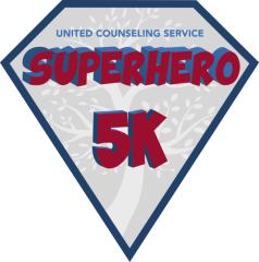 UCS Virtual Superhero 5K registration logo