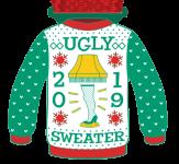 Ugly Sweater 1 Mile, 5K, 10K, 13.1, 26.2 registration logo