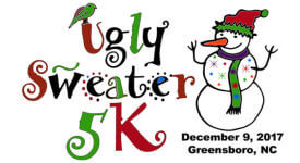 UGLY SWEATER 5K FUN RUN registration logo