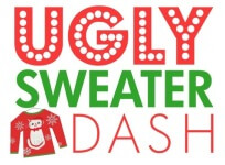 Ugly Sweater Dash registration logo