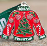 Ugly Sweater Day 5K and 10K registration logo