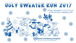Ugly Sweater Run 5K registration logo