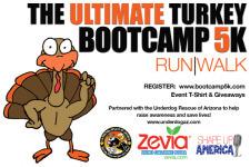 Ultimate Turkey Bootcamp 5k Run/Walk registration logo