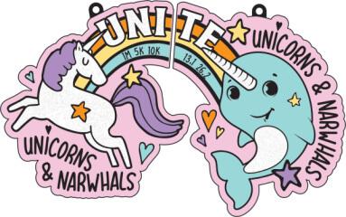 Unicorns and Narwhals Unite 1M 5K 10K 13.1 26.2